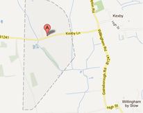 Get directions to The Grange bed & Breakfast in Kexby, Lincolnshire